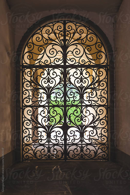 Decorated Wrought Iron Gate in Italy by Giorgio Magini for Stocksy United