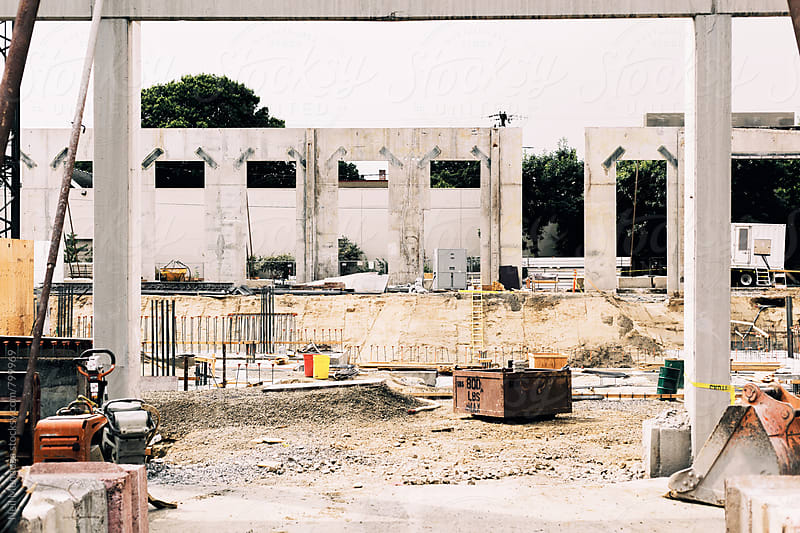 Construction Site by Neil Mendoza for Stocksy United