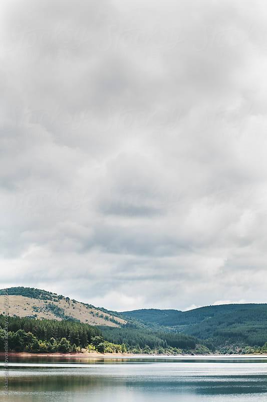 Landscape on a cloudy day by Aleksandar Novoselski for Stocksy United