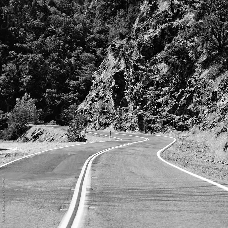 Northern California Road by Thomas Hawk for Stocksy United