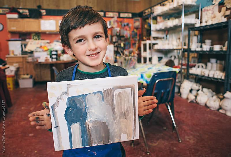 Art Class by Melanie DeFazio for Stocksy United