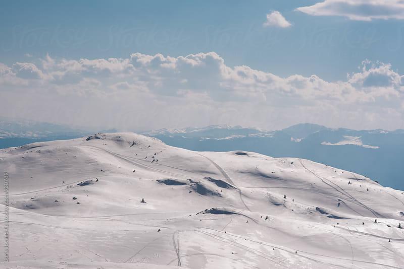 Dramatic mountain landscape  by Boris Jovanovic for Stocksy United
