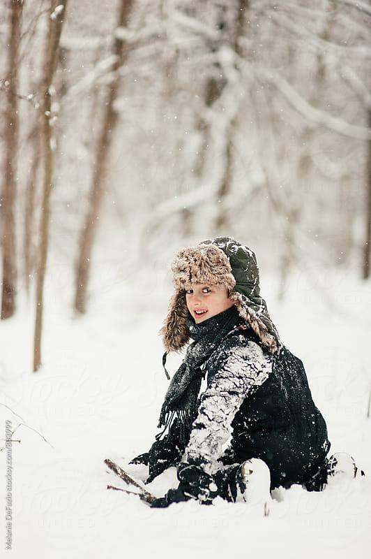 Snow day by Melanie DeFazio for Stocksy United