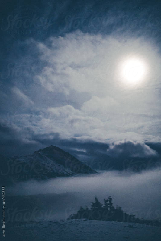 Foggy Mountain Morning by Jovell Rennie for Stocksy United