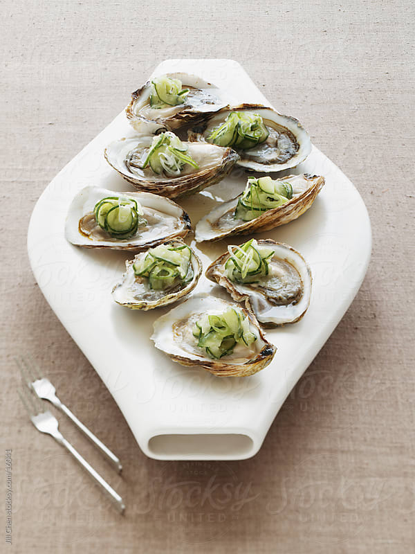 Modern Oysters by Jill Chen for Stocksy United