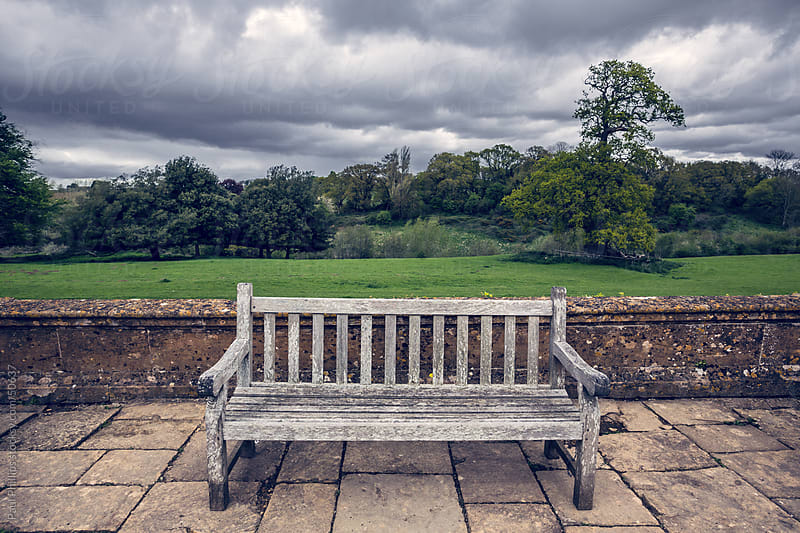 Park bench by Paul Phillips for Stocksy United