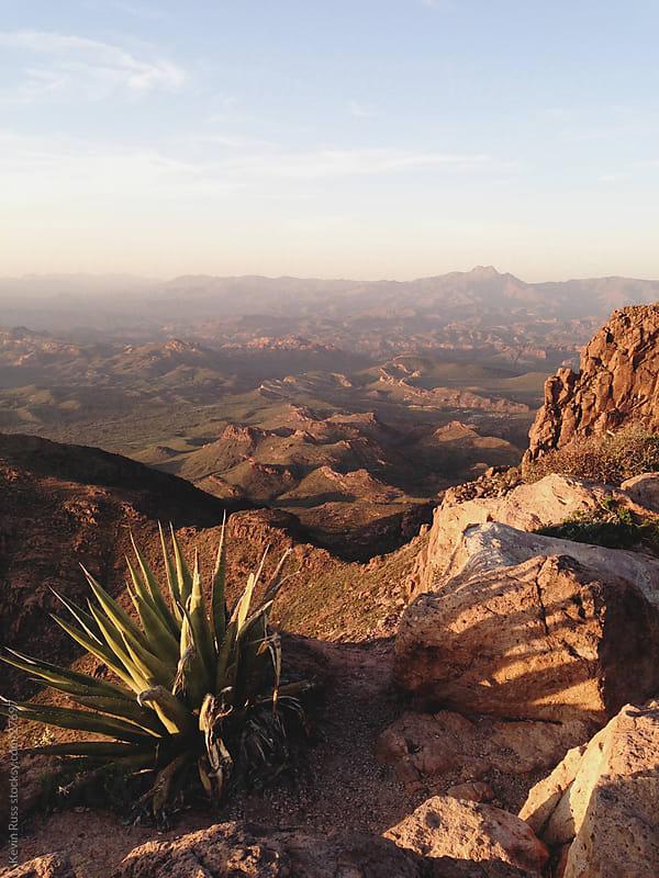 Desert Mountains Scene by Kevin Russ for Stocksy United
