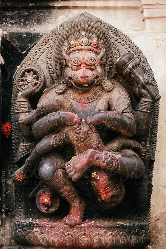 Hinduism god statue by Alejandro Moreno de Carlos for Stocksy United