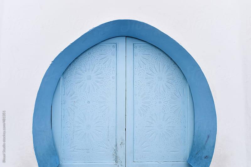 Arabian blue door by Bisual Studio for Stocksy United