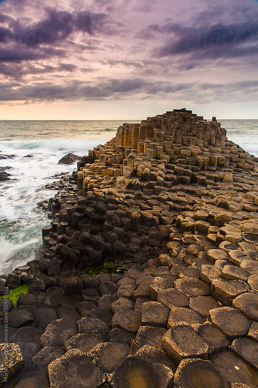 Farewell to the Summer Light (Giant's Causeway) by Marilar Irastorza for Stocksy United