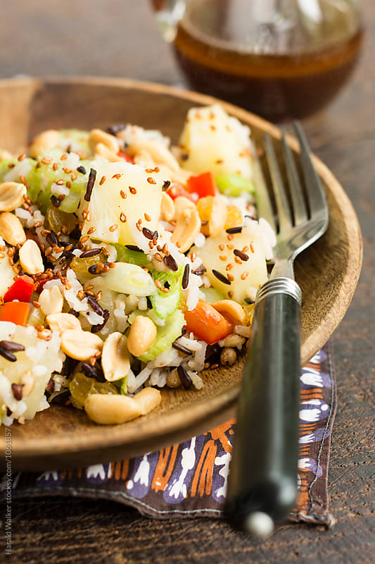 Indonesian Rice Salad by Harald Walker for Stocksy United