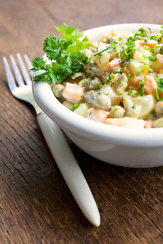Salad Oliver by Harald Walker for Stocksy United