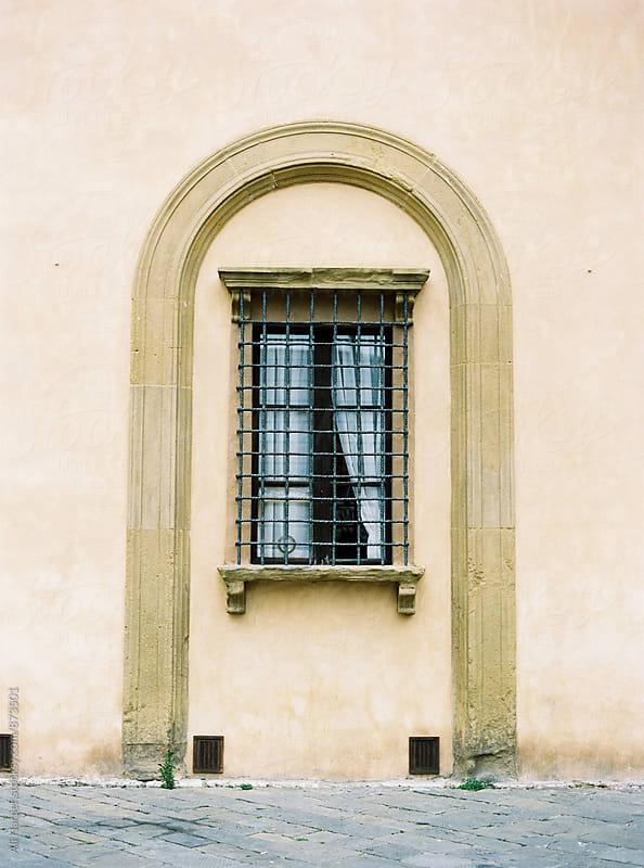 Siena window by Ali Harper for Stocksy United
