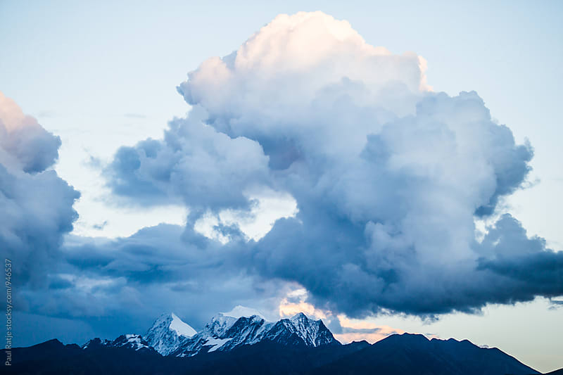 Clouds Over Tibet by Paul Ratje for Stocksy United