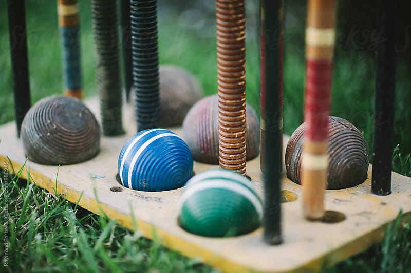Croquet Anyone? by Raymond Forbes LLC for Stocksy United