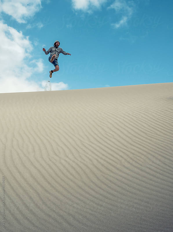 Dune Jumper by craig ferguson for Stocksy United