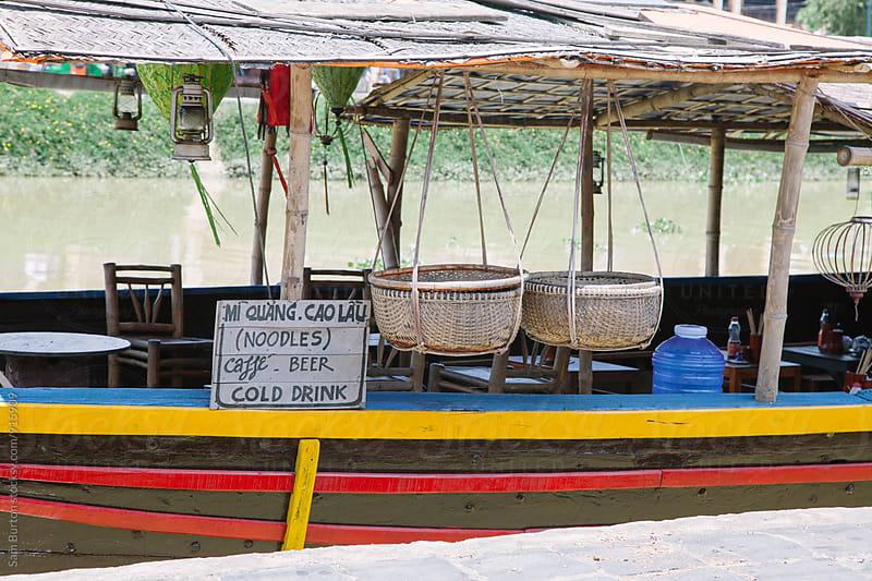 Cafe boat by Sam Burton for Stocksy United