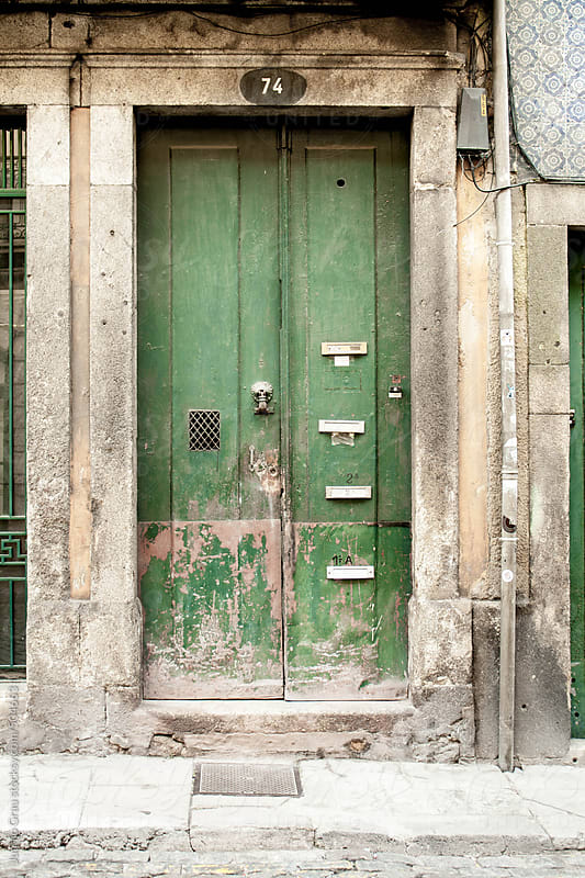 Colored doors by Juanjo Grau for Stocksy United