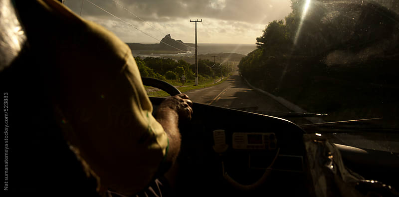 on the road  by Nat sumanatemeya for Stocksy United