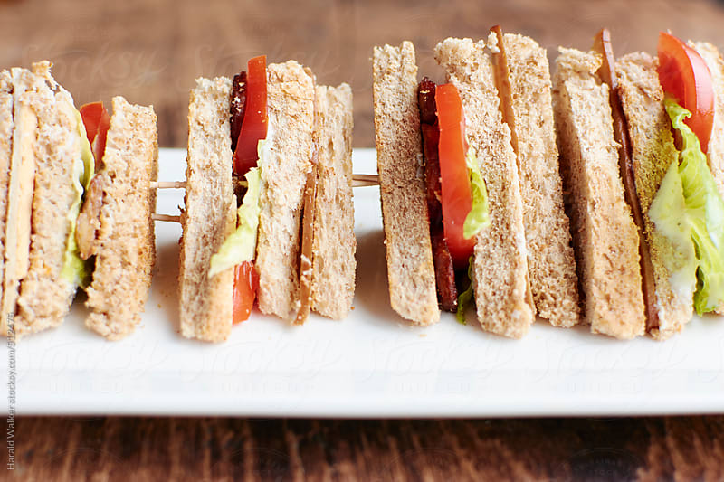 Club Sandwiches by Harald Walker for Stocksy United