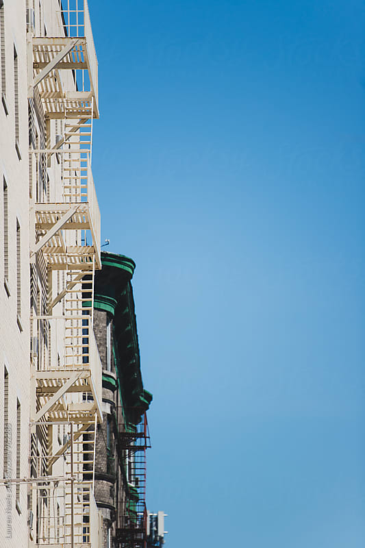 Cast iron building in New York City by Lauren Naefe for Stocksy United