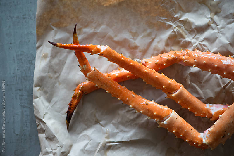Alaska King crab legs by Tara Romasanta for Stocksy United