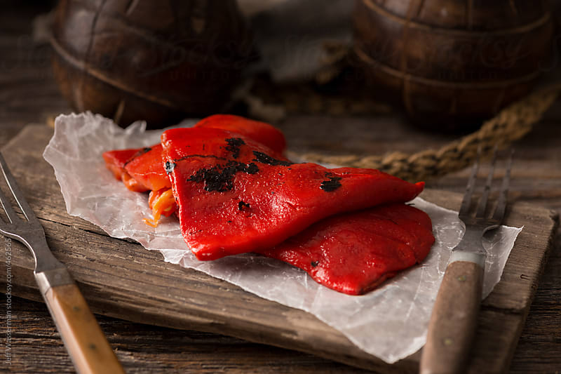 Roasted Red Peppers by Studio Six for Stocksy United