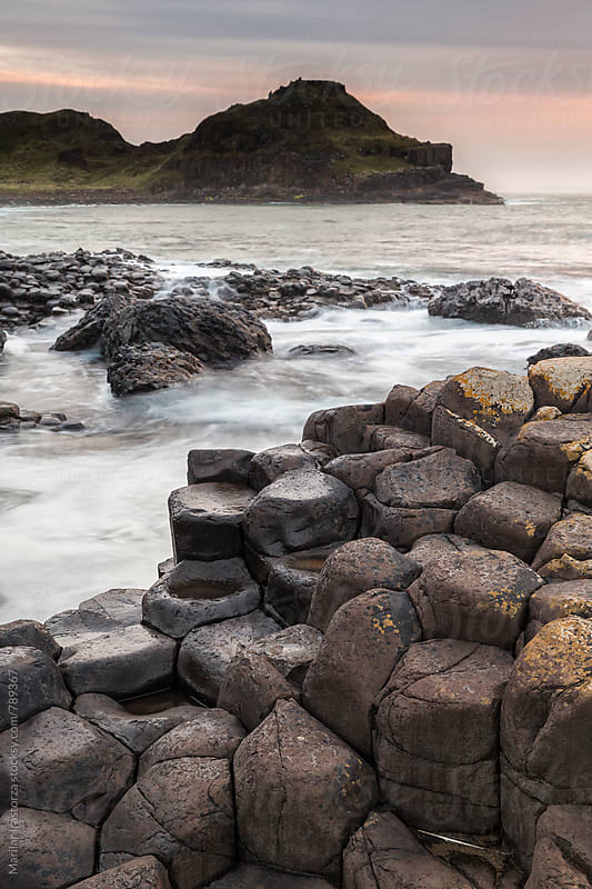 The Giant´s Causeway, North Ireland by Marilar Irastorza for Stocksy United