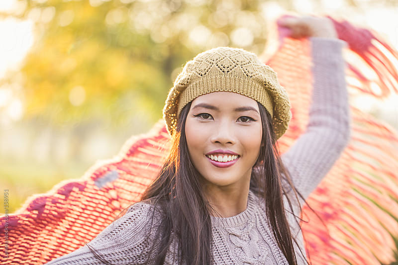 Happy Asian Woman by Lumina for Stocksy United