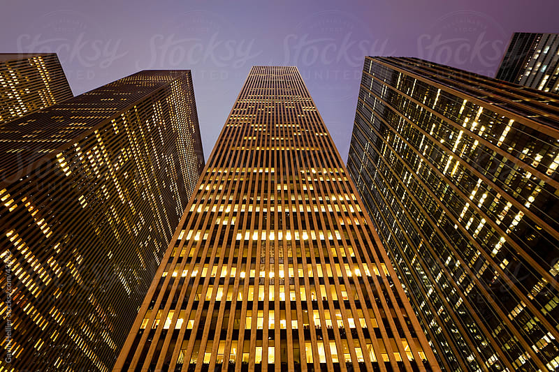 Financial district of Sixth Avenue, Manhattan, New York City, New York, United States of America, North America by Gavin Hellier for Stocksy United