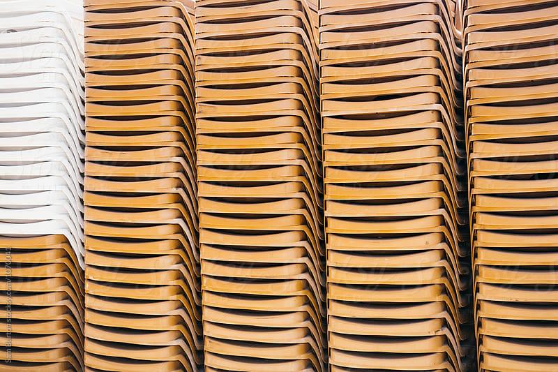 Beach chairs by Sam Burton for Stocksy United