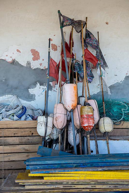 Fishing buoys by Marta Muñoz-Calero Calderon for Stocksy United