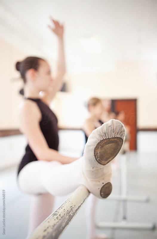 Ballet: Focus on Student's Ballet Slipper by Sean Locke for Stocksy United