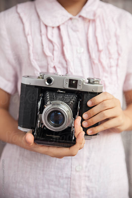 vintage camera by jira Saki for Stocksy United