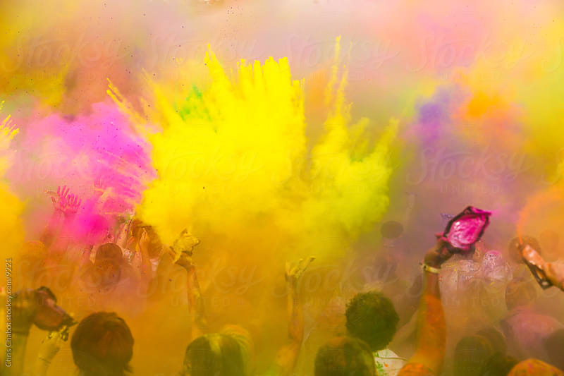 Festival of Colors by Chris Chabot for Stocksy United