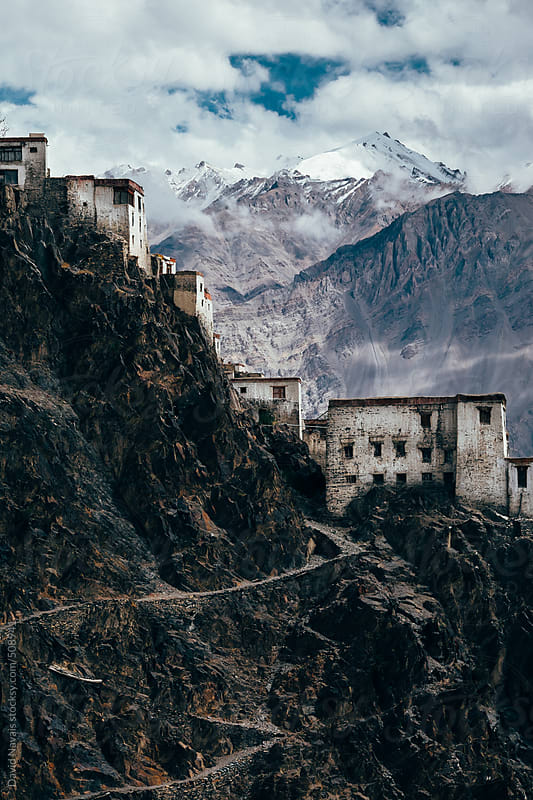 Karsha gompa (monastery) by David Navais for Stocksy United