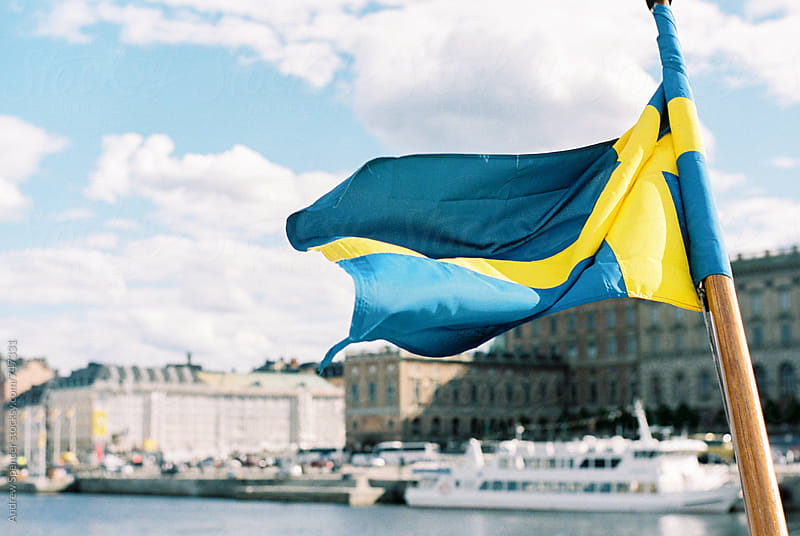 Sweden Flag by Andrew Spencer for Stocksy United