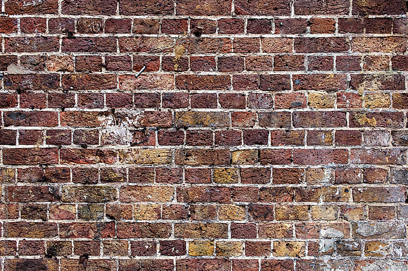 Brick Wall Background by Victor Torres for Stocksy United
