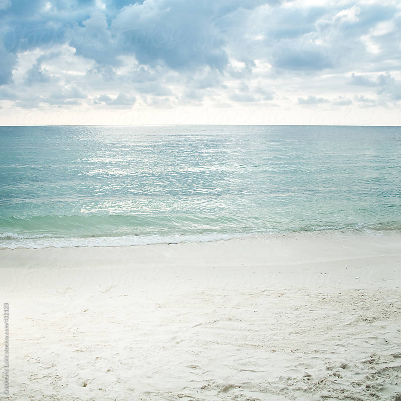 Tropical Beach Landscape by Goldmund Lukic for Stocksy United