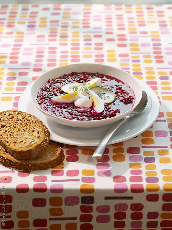 Beet Soup by Jill Chen for Stocksy United