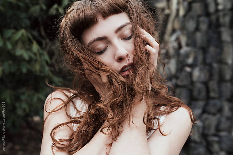 Sensual portrait by Jovana Rikalo for Stocksy United