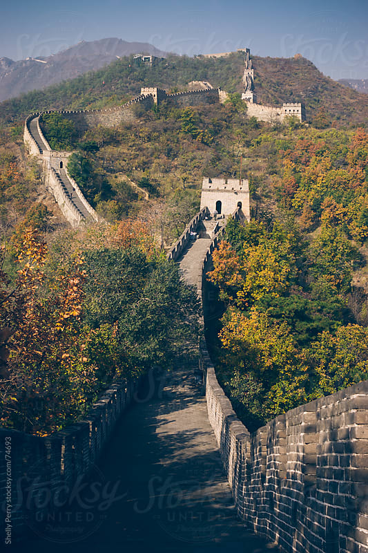 The Great Wall of China by Shelly Perry for Stocksy United