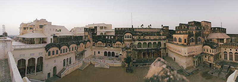 old maharadja palace by Leander Nardin for Stocksy United