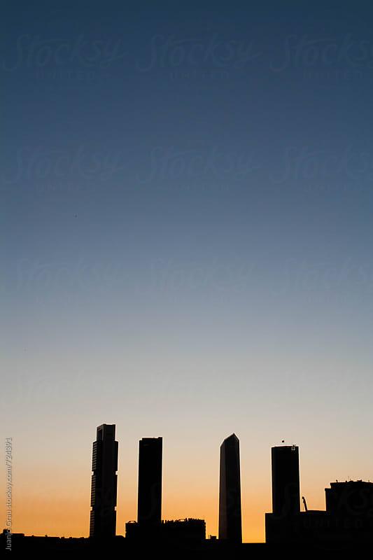 Sunset in Madrid by Juanjo Grau for Stocksy United