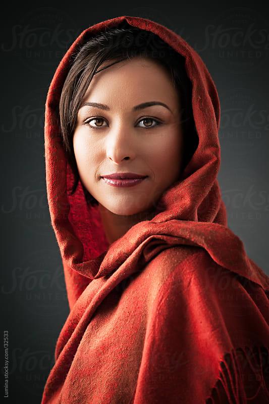 Beautiful Muslim Woman by Lumina for Stocksy United