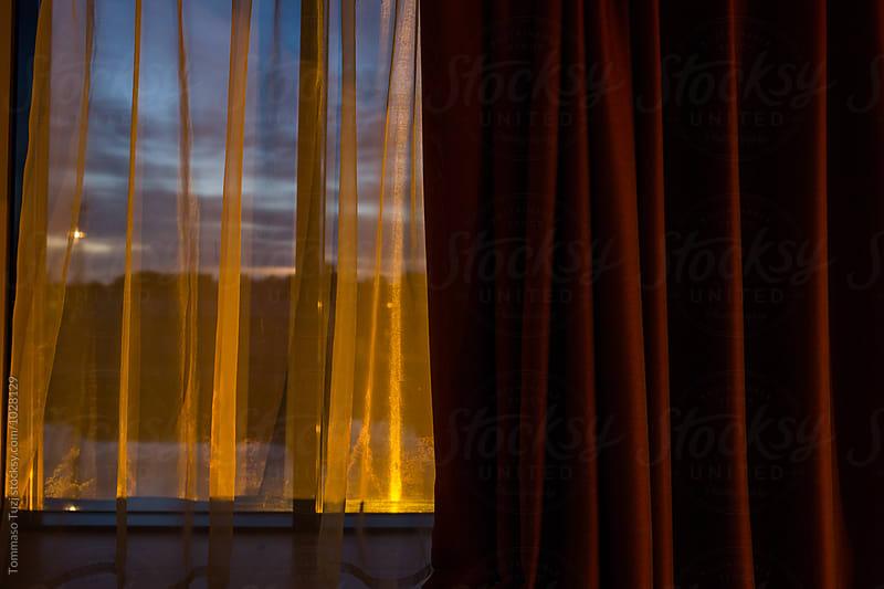 Hotel room window by Tommaso Tuzj for Stocksy United