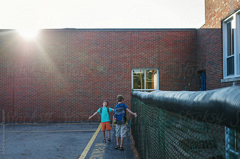 First Day of School by Ali Deck for Stocksy United