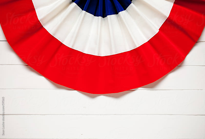 Background: American Bunting Background by Sean Locke for Stocksy United