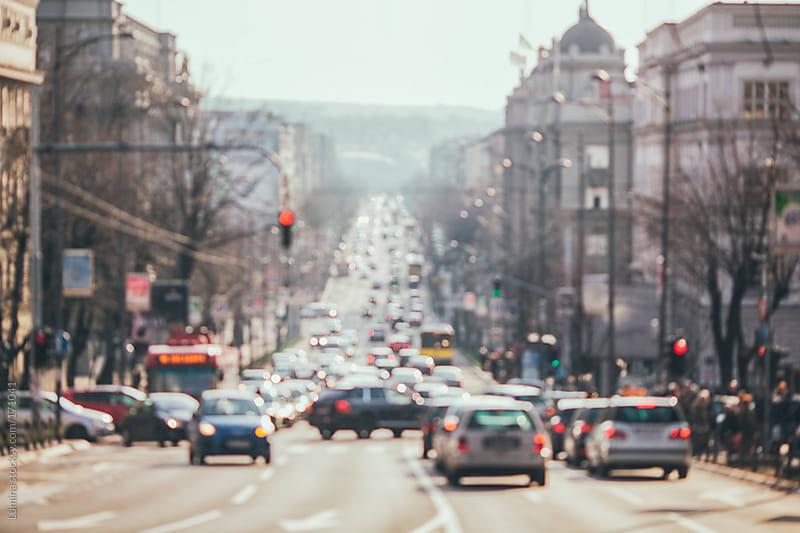Bustling City Street by Lumina for Stocksy United