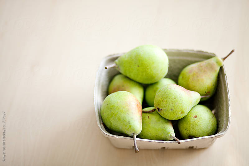 Fresh Green Pears by Amy Drucker for Stocksy United